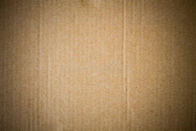 Carton brun abstrait photos libres de droits