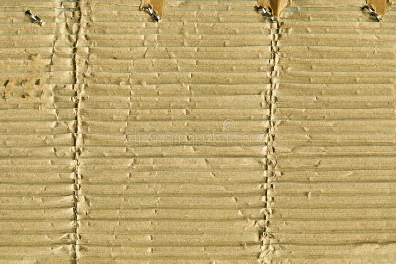 Carton déchiré photographie stock