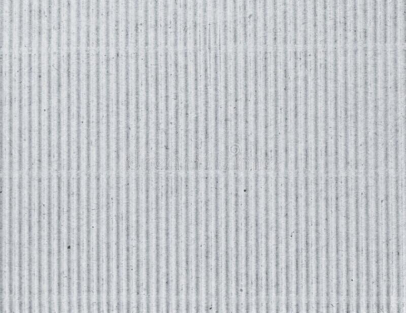 Carton gris ondulé comme fond photos libres de droits