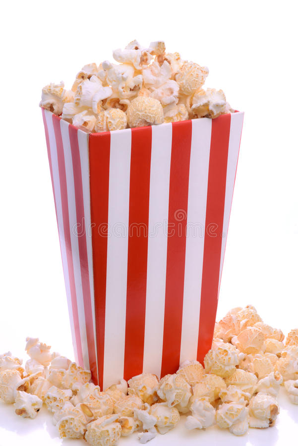Download Popcorn stock photo. Image of isolated, carton, overflowing - 37447382