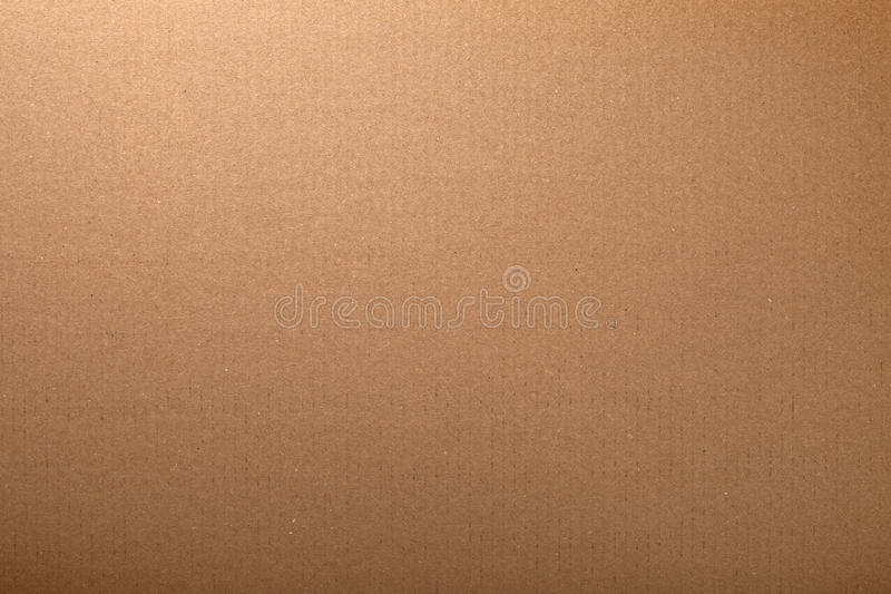 Carton Texture. Brown cardboard carton texture for background. Top view royalty free stock photography