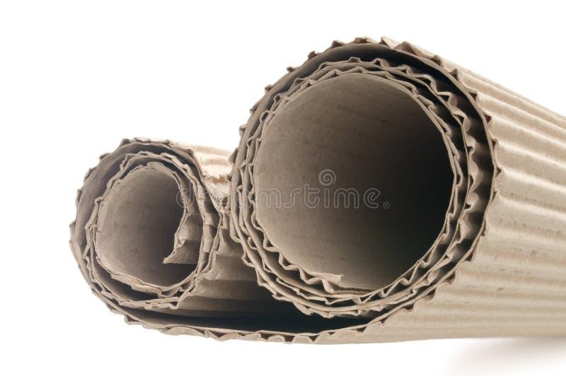 Cartone ondulato fotografie stock