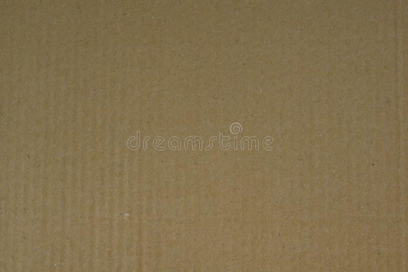 Cartone ondulato come struttura completa del fondo di struttura fotografia stock