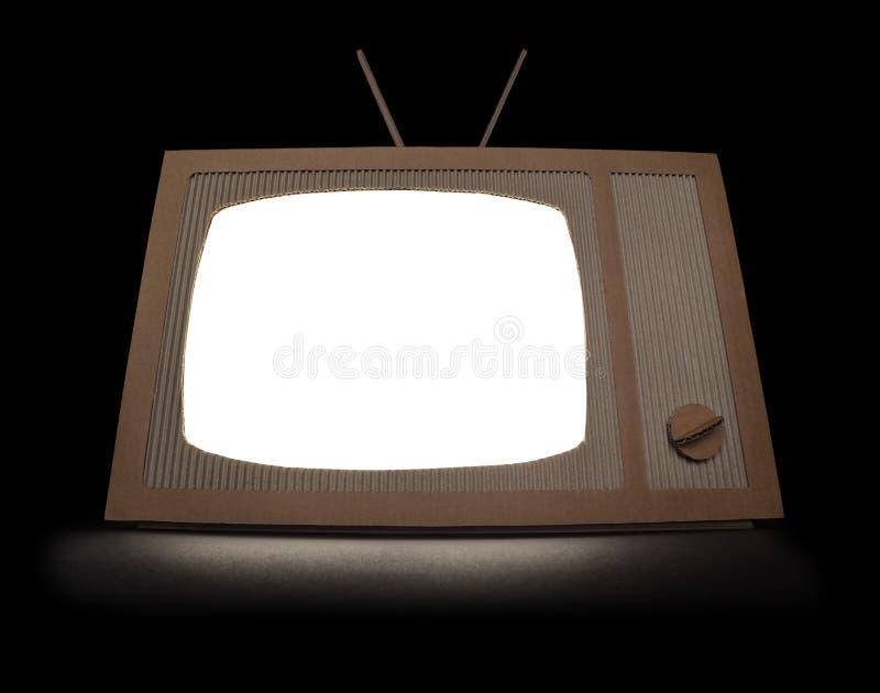 Cartone TV fotografia stock libera da diritti
