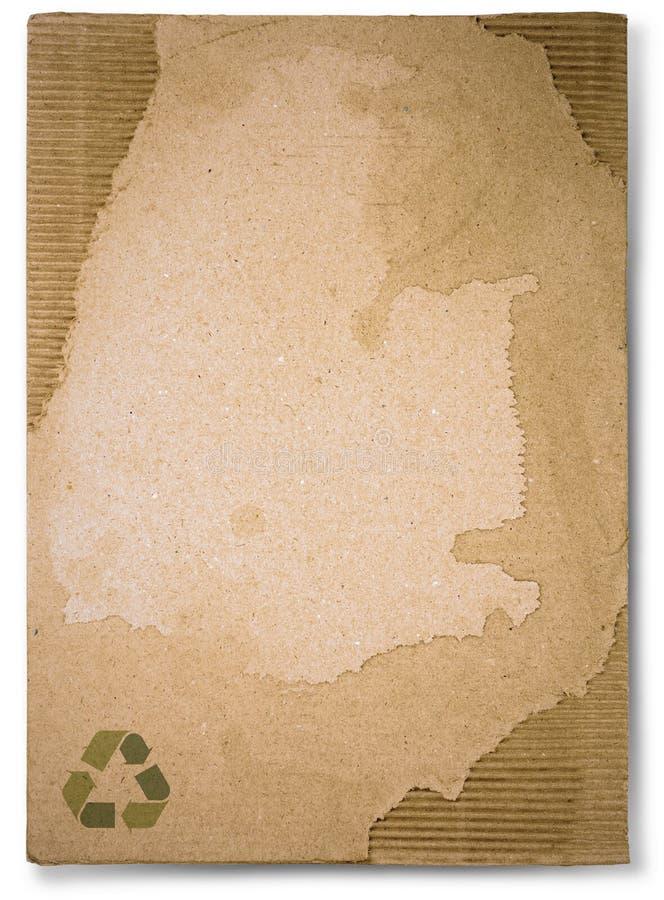 Cartones de papel viejos foto de archivo