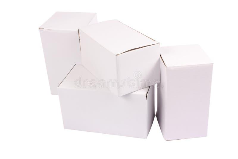 Cartons de carton photos libres de droits