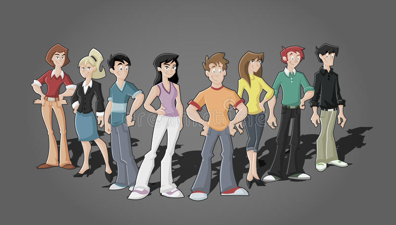 Download Cartoon stock vector. Illustration of illustration, character - 19718341