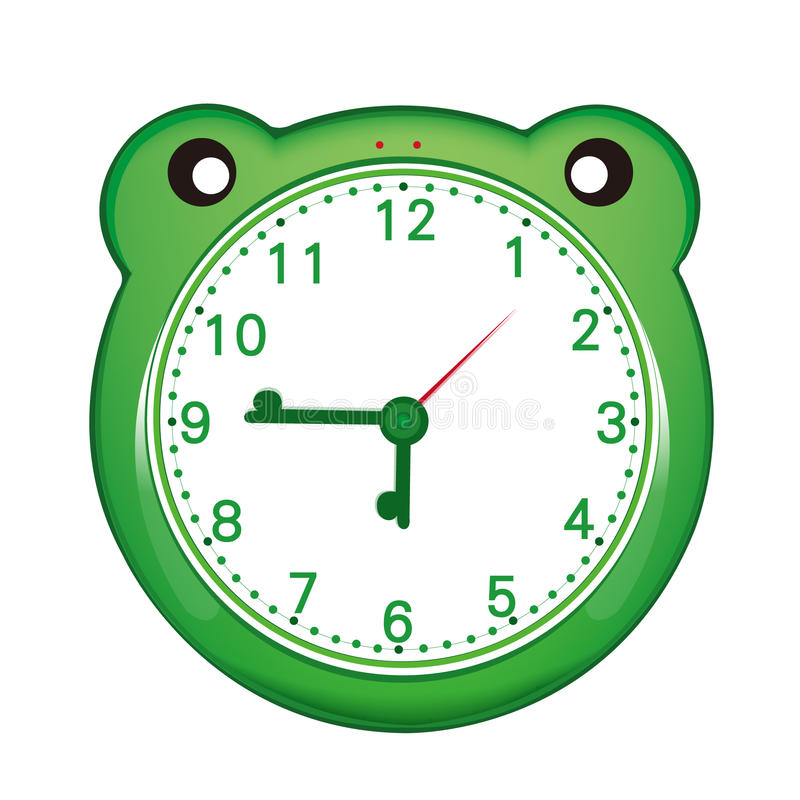 Download Cartoon alarm clock stock vector. Image of moment, alarm - 24471182