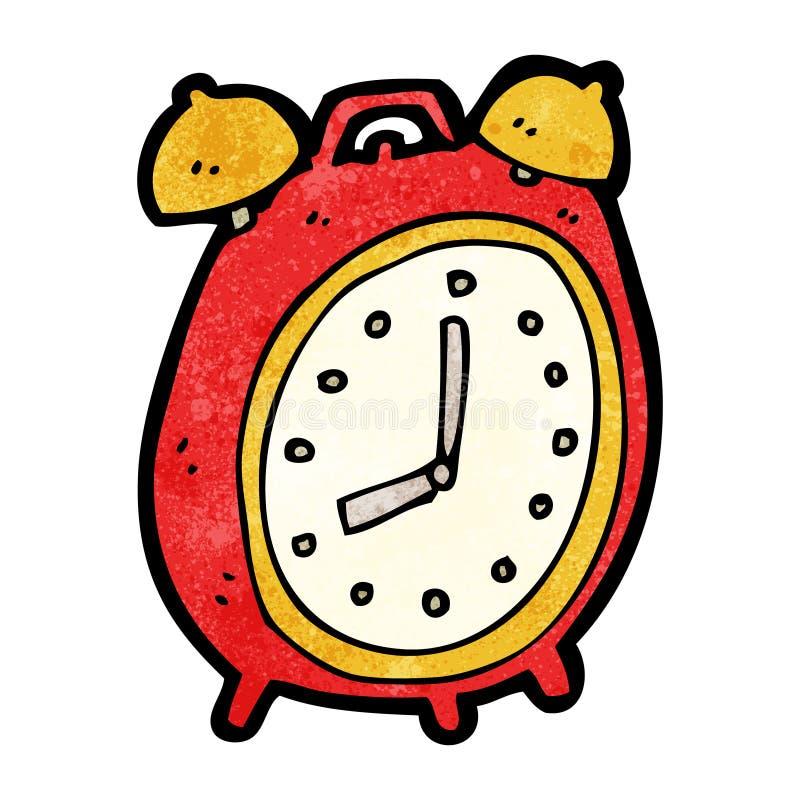 cartoon alarm clock royalty free illustration