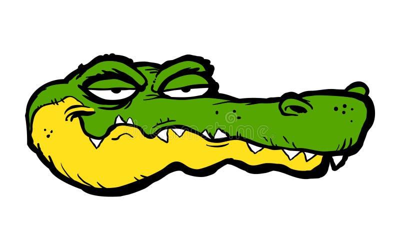 Cartoon Alligator stock illustration