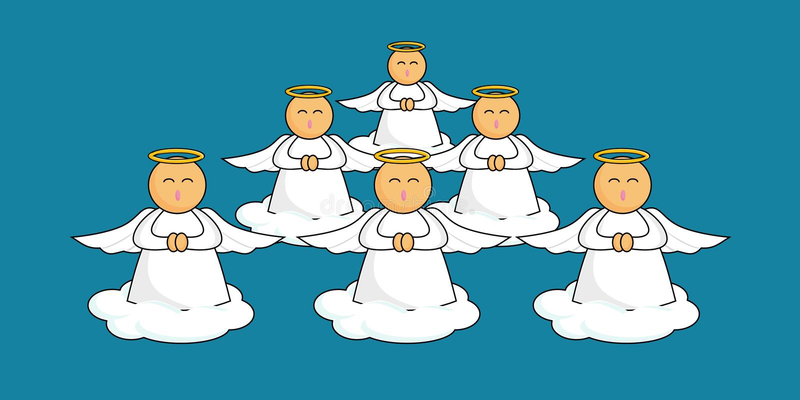 Download Cartoon Angels Royalty Free Stock Photos - Image: 1371778