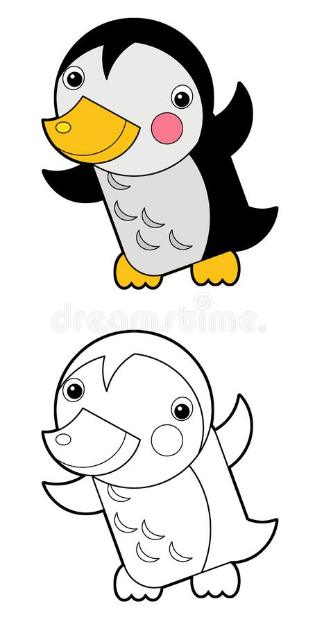 Penguin Printable Coloring Pages Christmas Penguin - Baby Penguins ... | 900x454