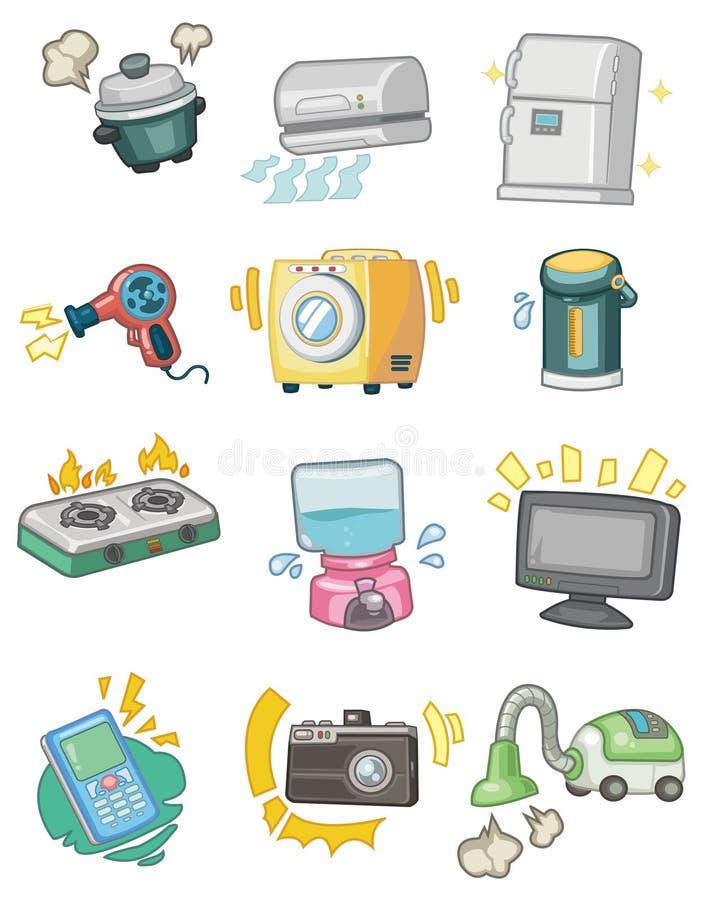 Cartoon Appliance icon. Vector drawing