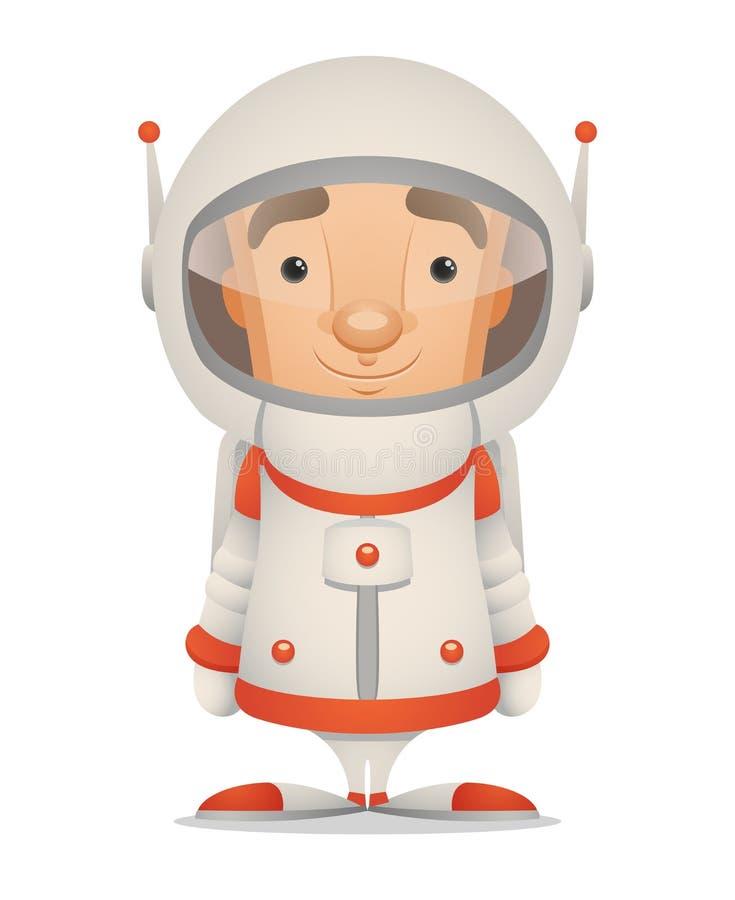 Download Cartoon Astronaut stock vector. Illustration of stars - 23828681