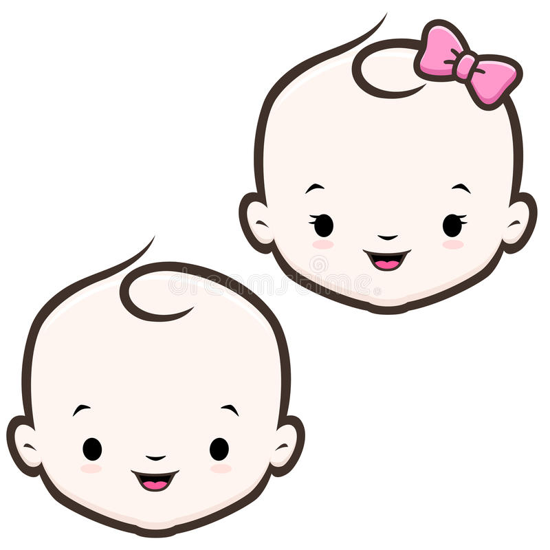cartoon baby face stock vector illustration of smile 61952167 rh dreamstime com cartoon baby faces happy and crying cartoon baby face images