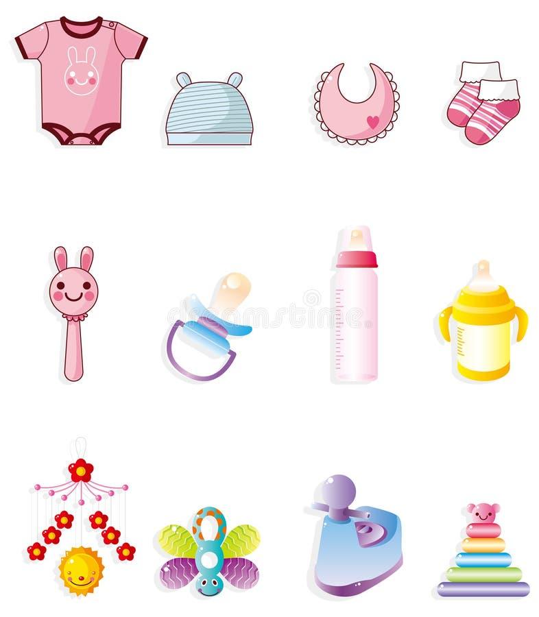 Cartoon Baby Icon Royalty Free Stock Photography Image