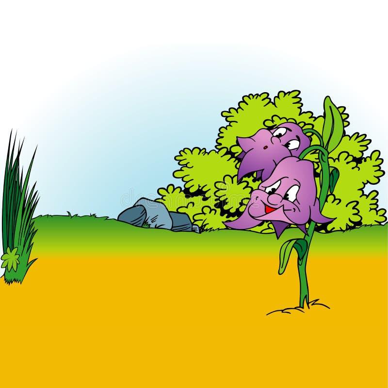 Cartoon Background 04 Royalty Free Stock Image