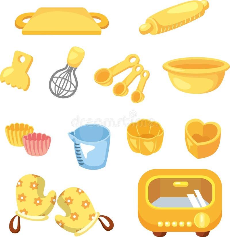 Free Cartoon Bake Tool Icon Stock Images - 22786214