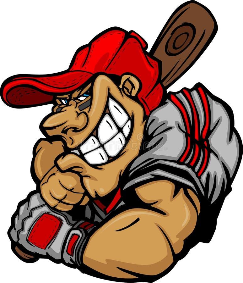 Download Cartoon Baseball Player Batting Design Stock Vector - Image: 21427980