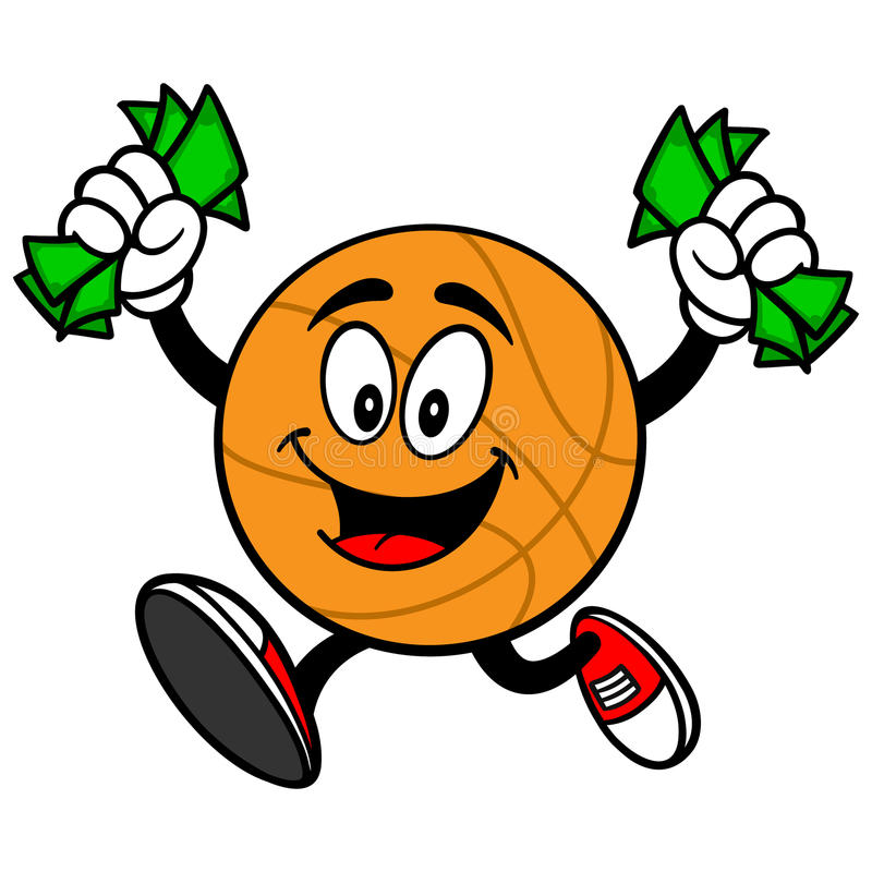 The Money Bag Running With Money Flying Out Is Suppose - Cartoon Money Bag  Logo, HD Png Download , Transparent Png Image - PNGitem