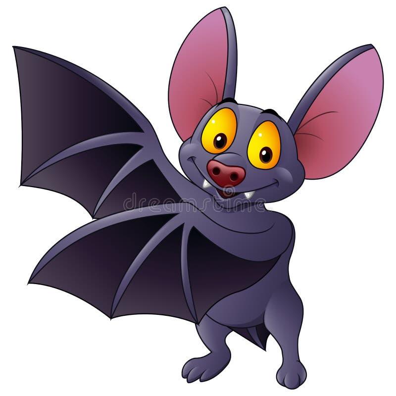 Cartoon Bats: Cartoon Bat Waving Stock Vector. Illustration Of Painting