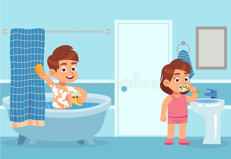 cartoon girl take bath stock illustrations 294 cartoon girl take bath stock illustrations vectors clipart dreamstime dreamstime com