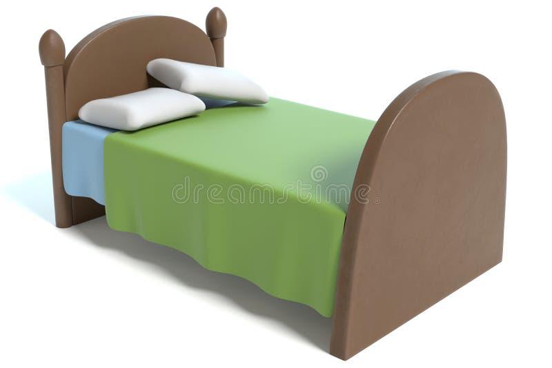 Cartoon Bed stock illustration Illustration of graphic 100228135