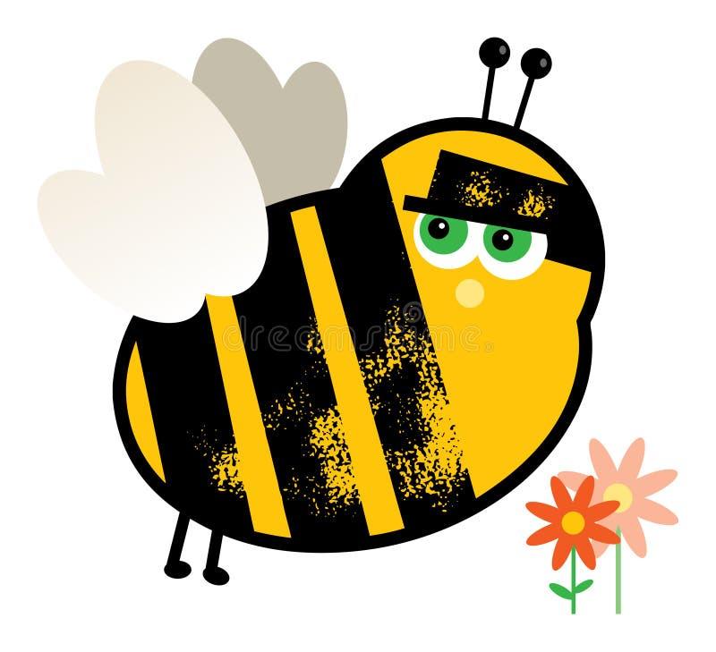 Download Cartoon Bee stock vector. Image of cartoon, clipart, worker - 17699449