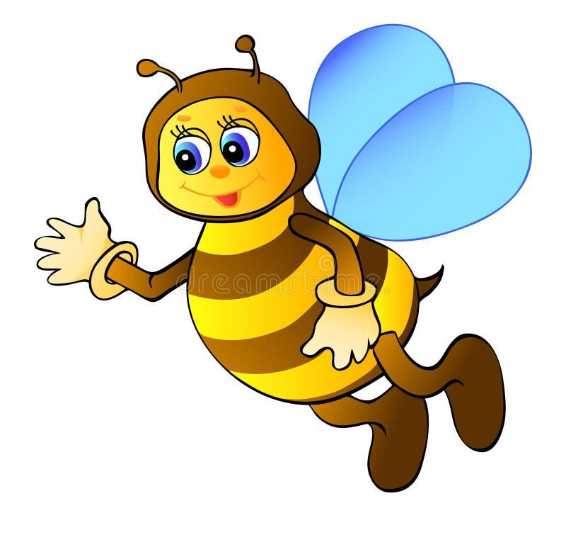 Download Cartoon bee stock vector. Image of honey, humor, face - 25264273