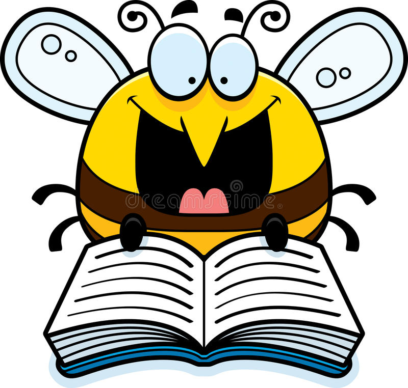 Reading Bee Stock Illustrations – 244 Reading Bee Stock ...
