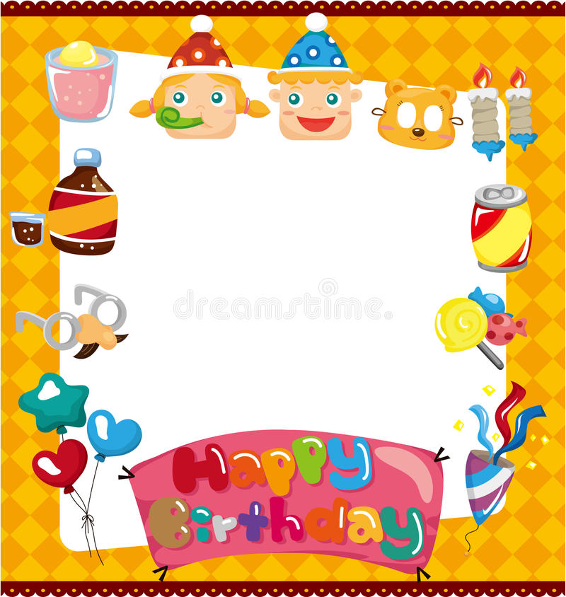 Cartoon birthday card stock vector illustration of balloon 19229092 cartoon birthday card m4hsunfo