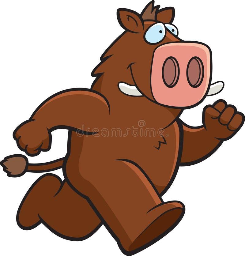 Download Cartoon Boar stock vector. Illustration of cartoon, vector - 6197328