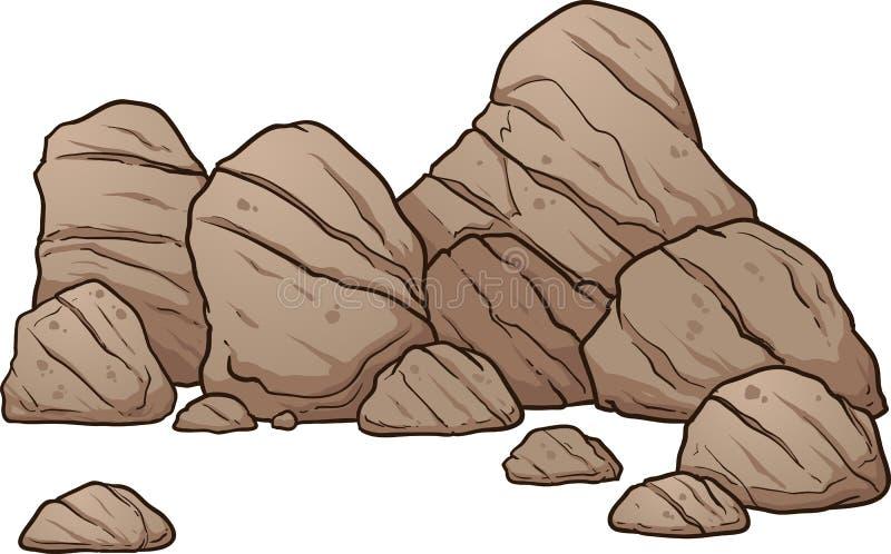 cartoon boulders stock vector illustration of layer 91673570 rh dreamstime com clipart rockstar clip art rocket ship