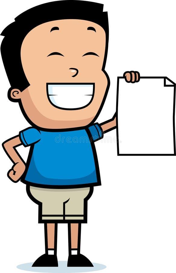 Free Cartoon Boy Proud Stock Photos - 47527393