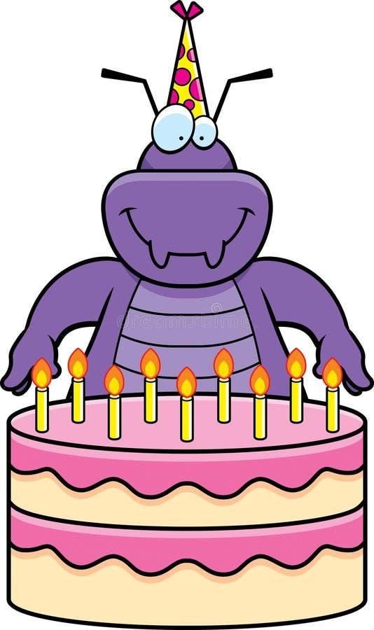 Cartoon Bug Birthday stock vector Illustration of animal 47087911