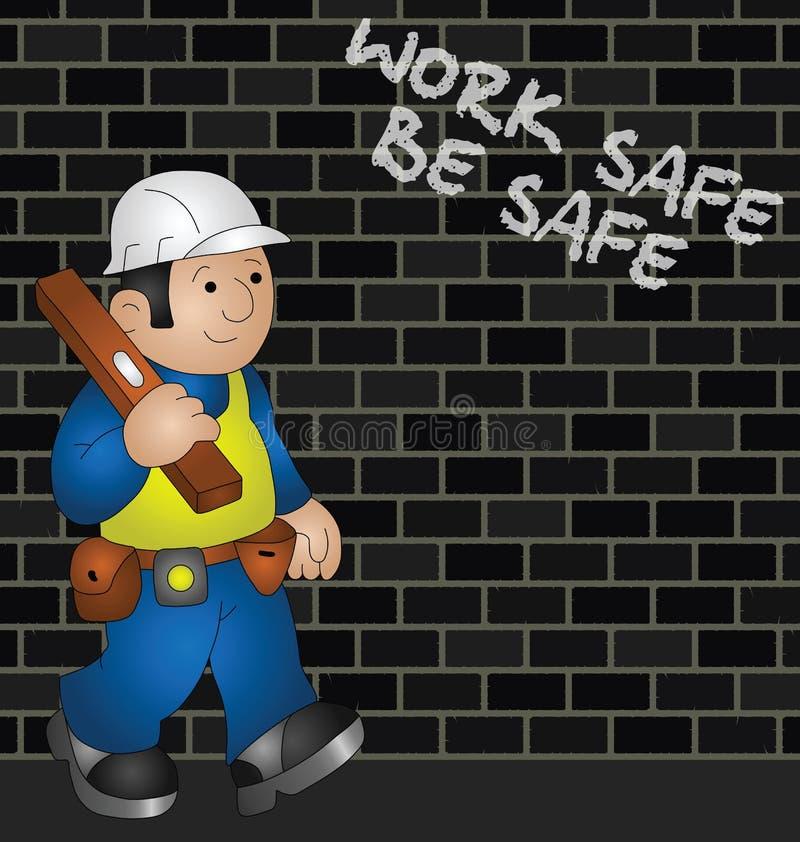 Cartoon Builder Royalty Free Stock Image