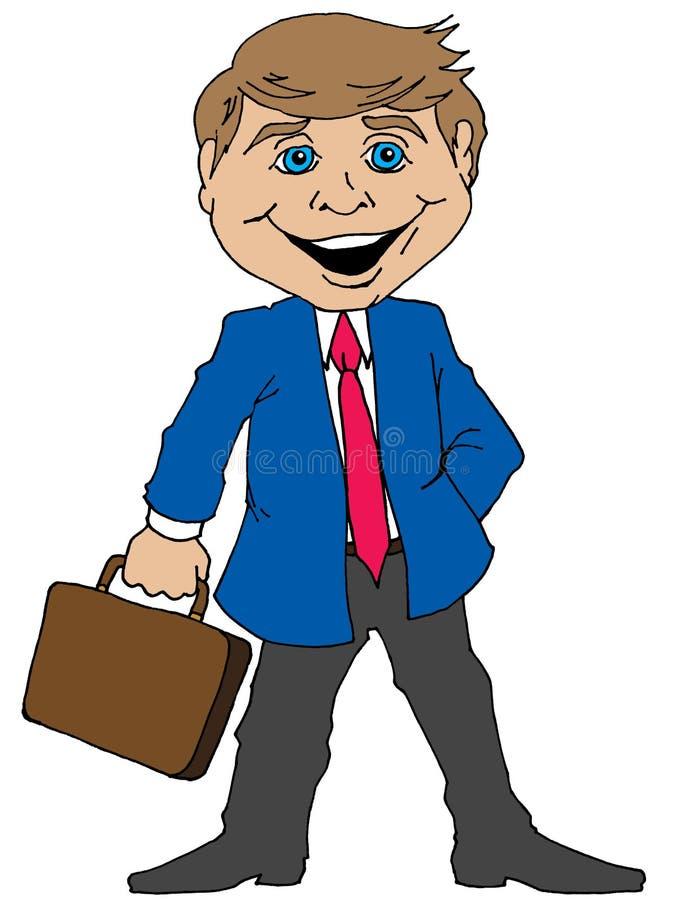 Download Cartoon Businessman Stock Vector - Image: 83705852