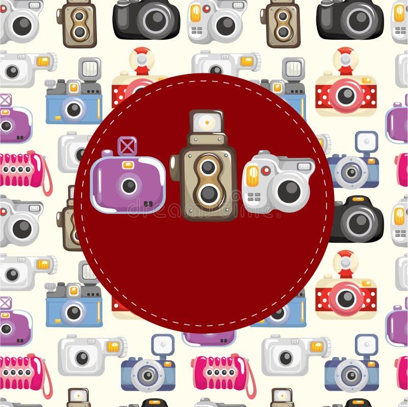 Free Cartoon Camera Card Royalty Free Stock Photography - 19714407