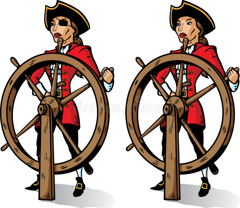 Download Cartoon Captain Pirate. Part Of A Series. Stock Vector - Illustration of pirate, power: 12926254
