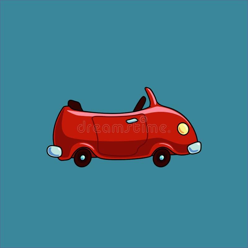 Cartoon car cabriolet stock images