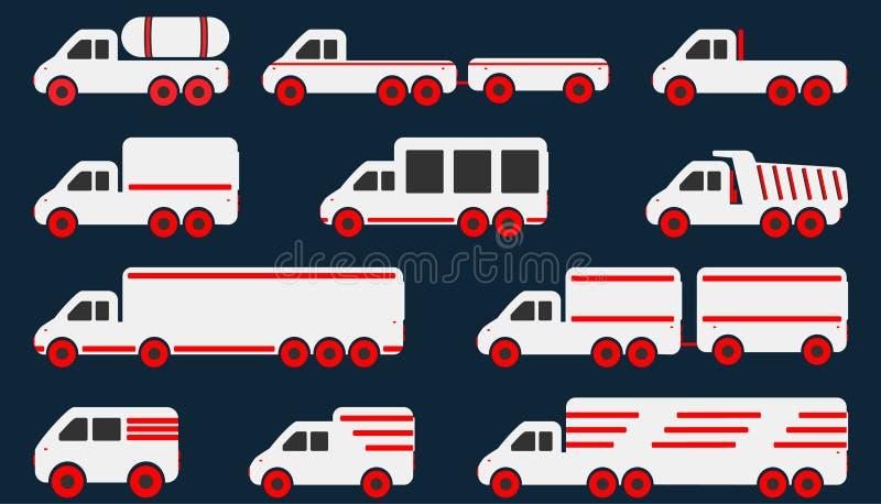 Cartoon Car Icons Stock Vector Illustration Of Cars 53306480