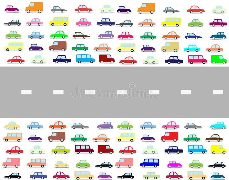 Download Cartoon cars stock illustration. Image of travel, cars - 23048982
