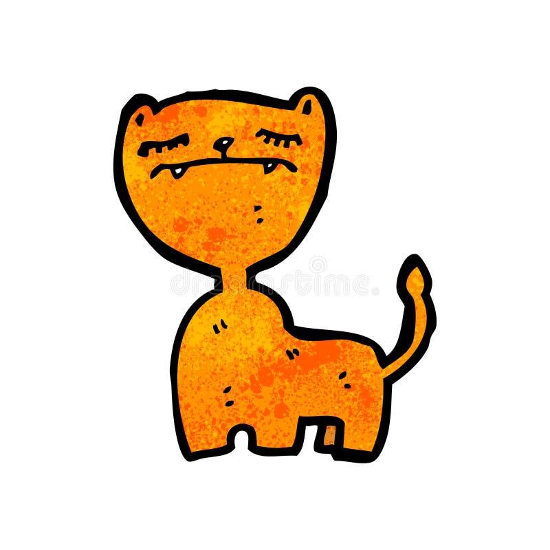 Download Cartoon cat stock vector. Illustration of doodle, artwork - 38065080