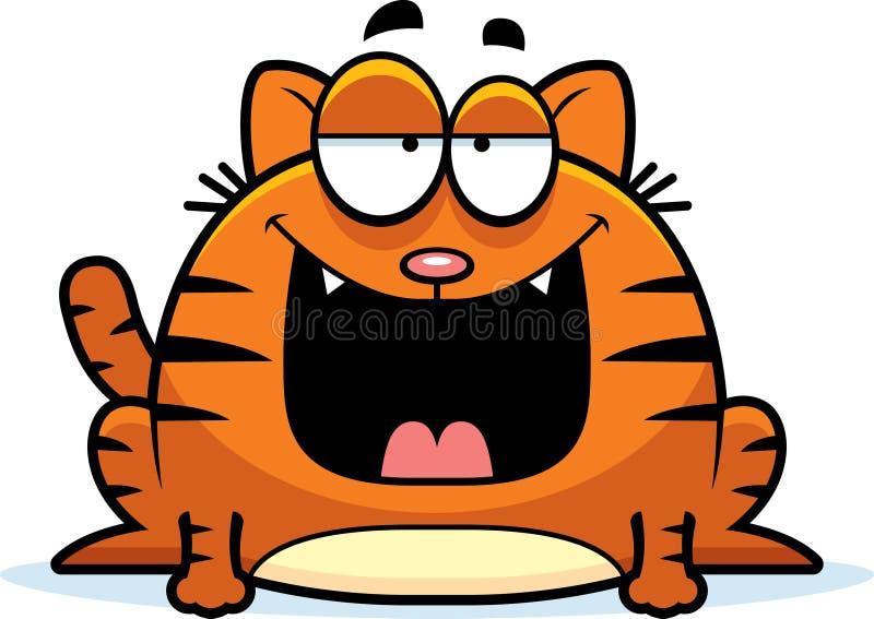 Cartoon Cat Smiling Stock Vector - Image: 41817512