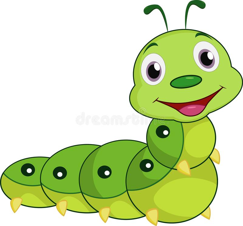 Cartoon Caterpillar Stock Illustrations 5 572 Cartoon