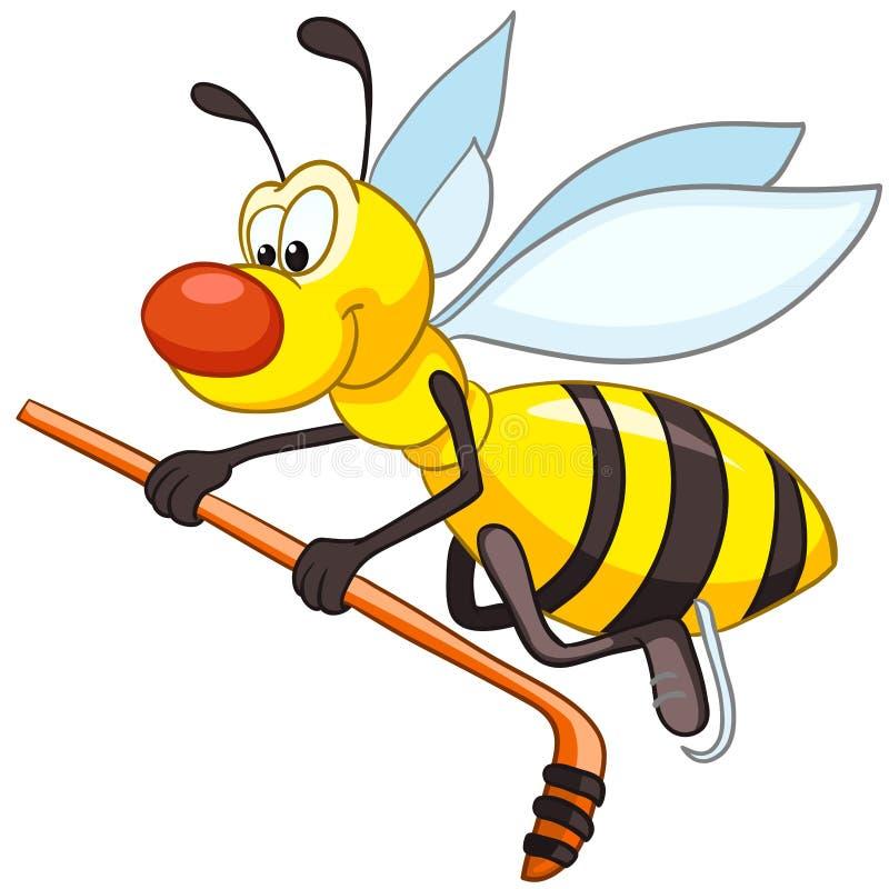 Cartoon Character Bee stock illustration