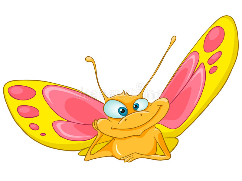 Download Cartoon Character Butterfly Royalty Free Stock Photography - Image: 22318117