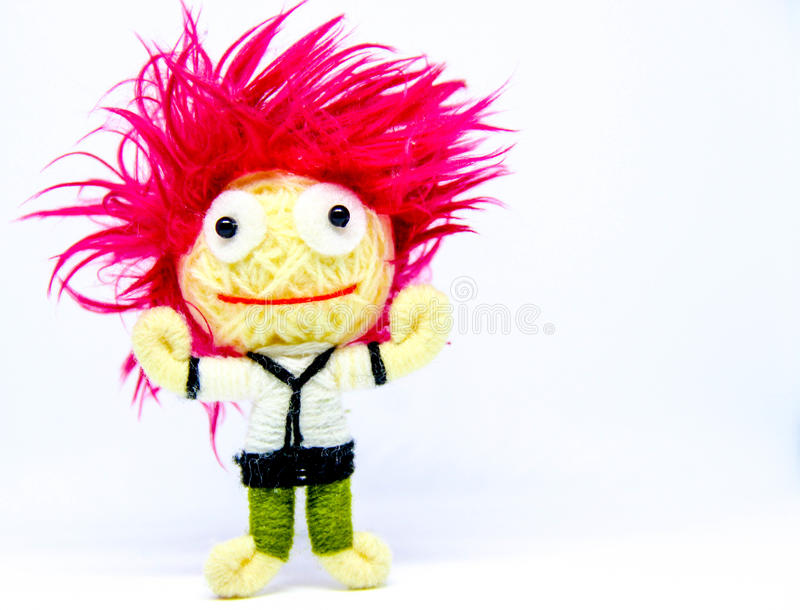 Cartoon character of dreams. Cartoon image of white background in fantasy royalty free stock photo