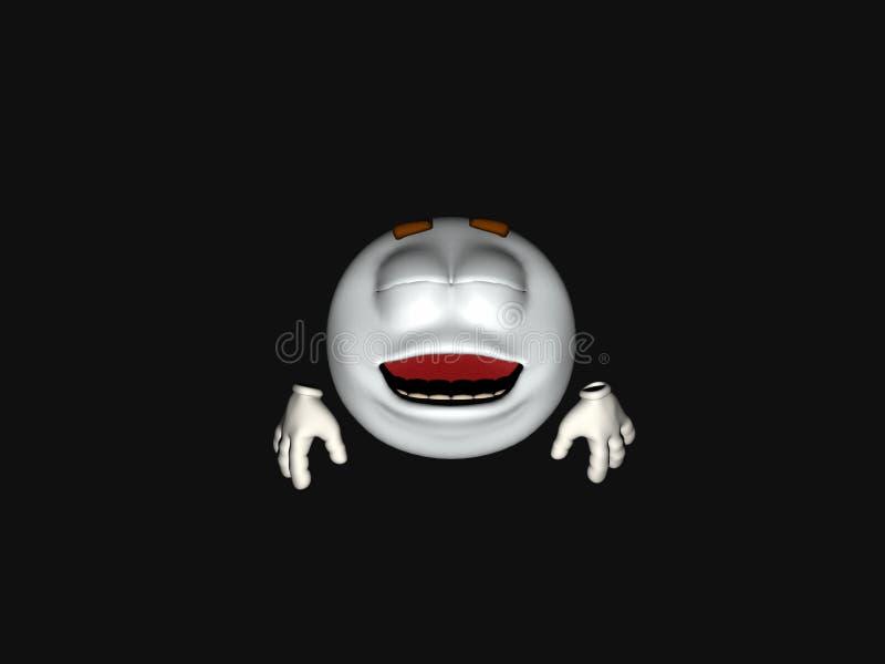 Download Cartoon character emoticon stock illustration. Illustration of poser - 8119076