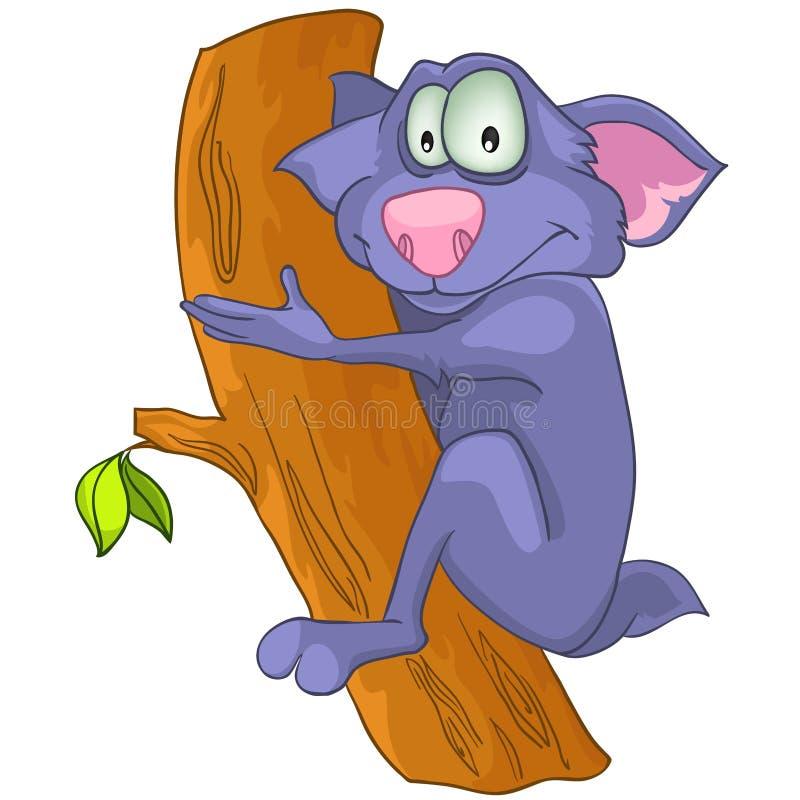 Download Cartoon Character Sloth stock vector. Image of single - 21988668